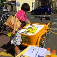 Budget participatif : tri-voter au triporteur