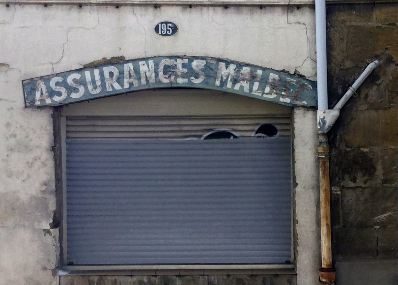 Bordeaux, rue Malbec