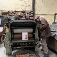 Un ancien atelier de torréfaction transformé en musée de l'imprimerie!