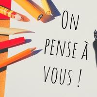 """""""On pense à vous"""" : correspondances artistiques et solidaires"""