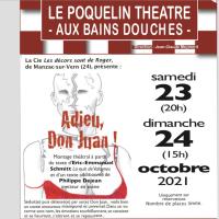 Samedi 23 et dimanche 24 octobre, réouverture théâtrale du Poquelin Théâtre