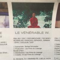 Dans le cadre du FIFIB : Découverte du film de Barbet Schroeder «  Vénérable W »