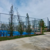 Inauguration du jardin sportif Suzanne Lenglen